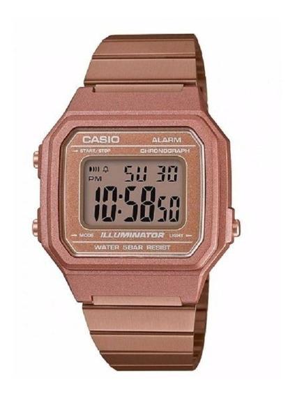 Relógio Casio Rose Vintage Retro B650wc 5adf Frete Grtais