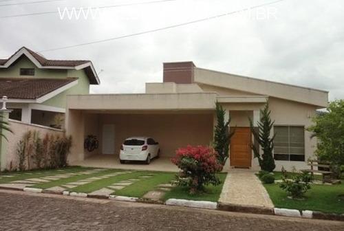 Imagem 1 de 24 de Casa Alto Padrão Em Condomínio, Portaria Rondas E Área De Lazer... - Ca01371 - 69565339