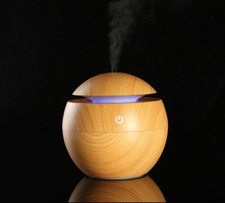 Difusor Aromaterapia 130ml Luces Led Colores Humidificador