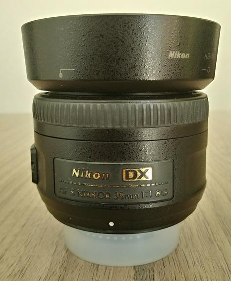 Lente 35mm F/1.8g Dx Nikon