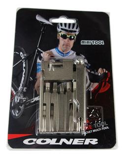 Herramienta Bicicleta Colner Multitool 13f. C/cortac - Racer