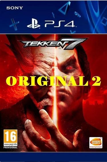 Tekken 7 - Ps4 Psn Cod 2 Env Agora