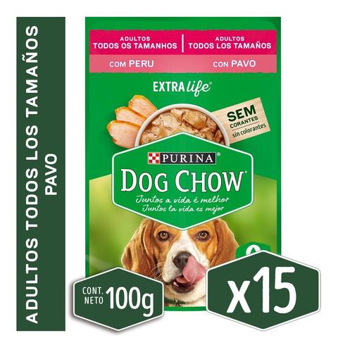 Alimento Húmedo Para Perro Dog Chow® Adultos Pavo Sobre 100g