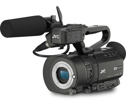 Filmadora Jvc Gy-ls300 4k Handycam Full Frame Com Streaming E Wi-fi Jvc