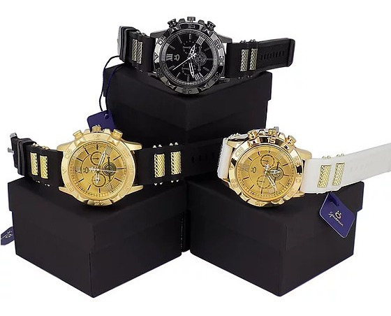 Kit 3 Relógio Masculino