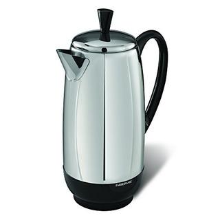 Farberware Fcp412 Percolator, 12-cup, Acero Inoxidable