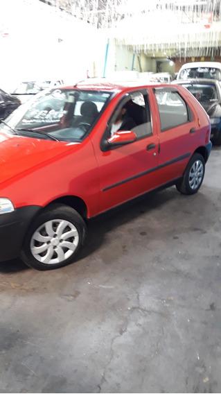 Fiat Palio 1.0 Faire Gasolina 4 Pts.vermelho