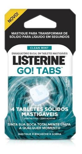Listerine Go! Tabs 4 Unidades