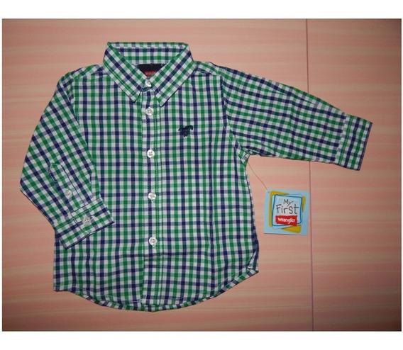 Camisa Wrangler Bebe Varon