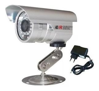 Câmera De Segurança Ccd Digital Infra Vermelho 4000 Linhas