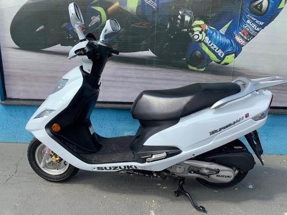 Suzuki Burgman 125 Ano 2018