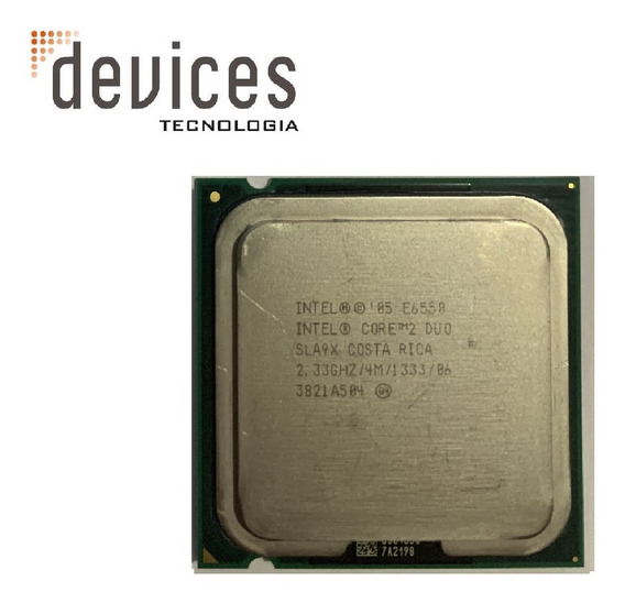 Intel Core 2 Duo E6550 Sla9x 2.33ghz Para Desktop