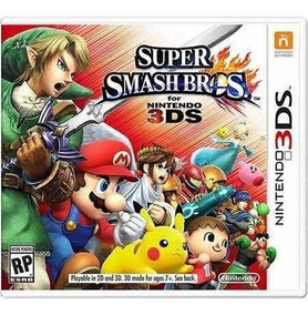Super Smash Bros Semi-novo 3ds