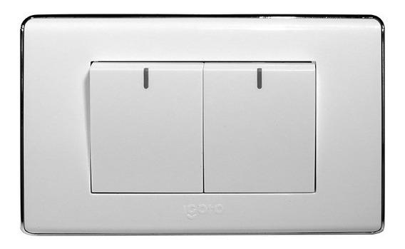 Interruptor Doble Eléctrico 125v~250v 10a Igoto A6022 3 Way