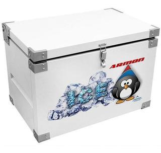 Caixa Térmica 360 Litros Inox Branca Armon