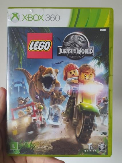 Jogo Lego Jurassic World Original Mídia Física Xbox 360