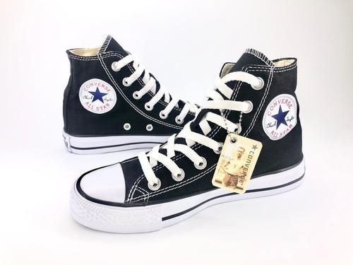 Converse All Star Para Adulto Color Negro En Bota