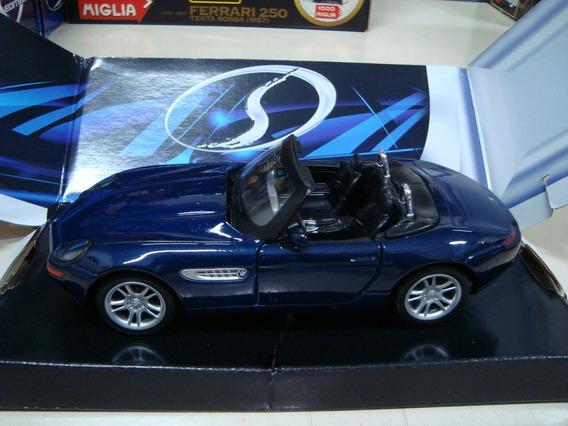 Miniatura Bmw Z8 1/24 Maisto Na Caixa Azul #c22