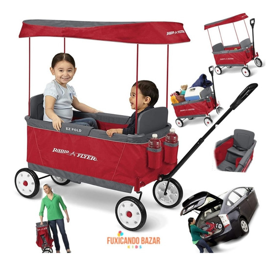 Ewagons Carrinho Para 2 Crianças - Importado - 12v -
