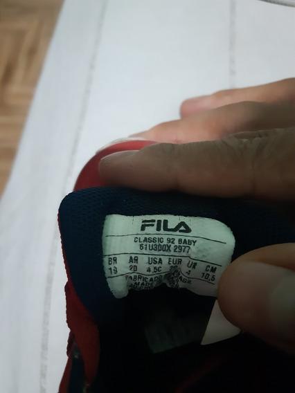 Zapatillas Fila Talle 20