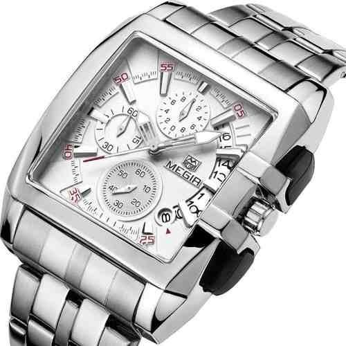 Relógio Mega Luxo Modelo Super Show Série Top De Linha