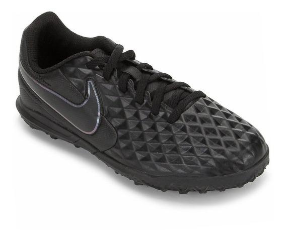 Chuteira Nike Tiempo Legend 8 Club Preta - Society