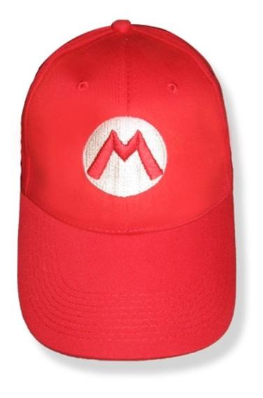 Gorra Bordada Mario Bros Super Nintendo Luigi Gabardina Adr