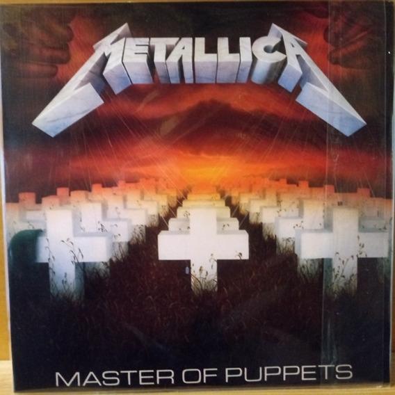 Metallica Master Of Puppets Nuevo Europeo