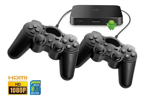 Retro Play Hd 2 En 1 Consola 2300 Juegos + Smart Tv Netflix