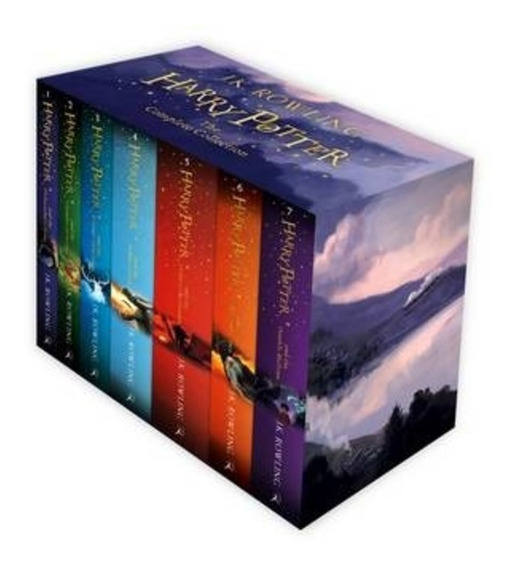 Saga Completa Harry Potter (en Inglés) - 7 Libros En Caja