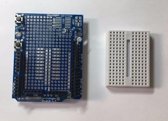 Protoboard + Protoshield V.5 - Frete Grátis