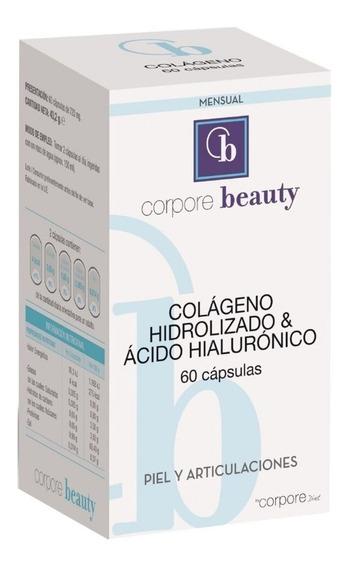 Colágeno Hidrolizado + Ácido Hialurónico Corpore X 60 Cap