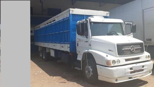Mb 1620 Truck 6x2 Ano 1999 Com Gaiola De Boi.