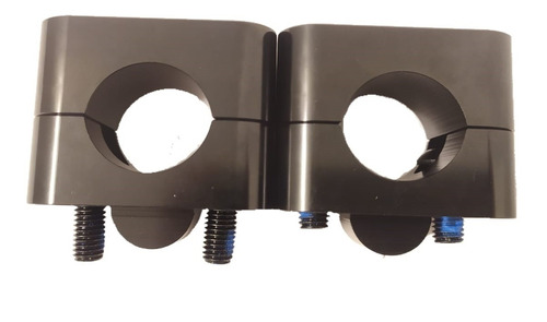 Elevador De Manillar Cross Negro Para 22 - 28.6mm