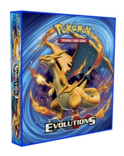 Álbum Pokémon Tipo Fichário Para Cards - Xy Evolutions