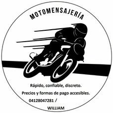 Servicio De Mensajería Y Moto Taxi.