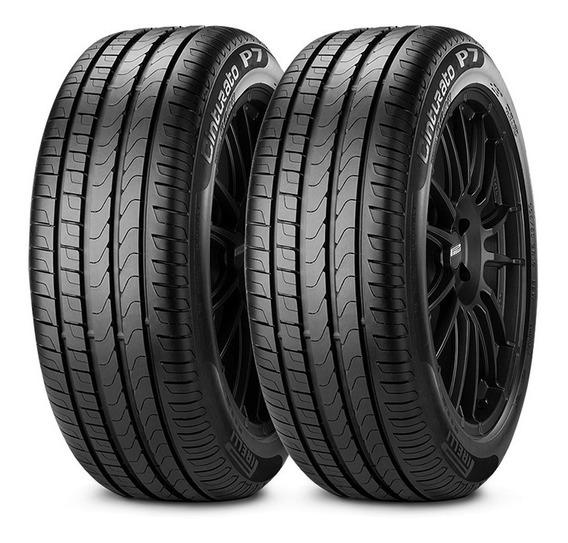 Kit X2 Pirelli 195/55 R16 V P7 Cinturato Neumen Ahora18
