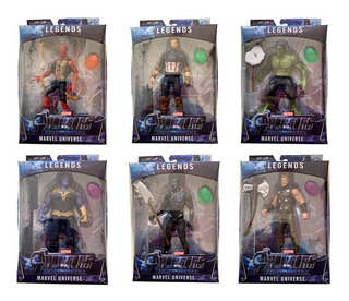 Muñecos Articulados Avengers End Game Spiderman Thanos Y Mas