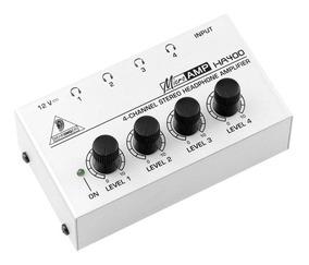 Amplificador De Fone Behringer Powerplay Ha400 Branco