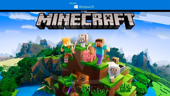 Jogo Original Minecraft Pc - Windows 10 Edition