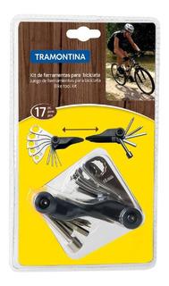 Kit De Ferramentas P/ Bicicleta 17 Pecas - Tramontina