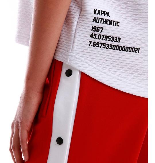 Remera Kappa Authentic Bawi K2304i7v0-k903x Mujer K2304i7v0-