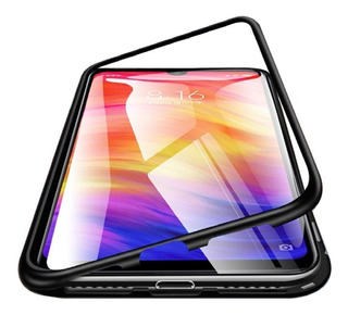 Capinha Capa Magnetica Xiaomi Redmi Note 6 Pro + Pelicula 3d