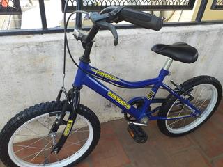 Bicicleta Necchi Potenza Rodado 16 Bmx Azul Lista Para Usar