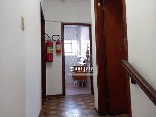 Sobrado Com 3 Dormitórios À Venda, 209 M² Por R$ 668.000,00 - Campestre - Santo André/sp - So3321