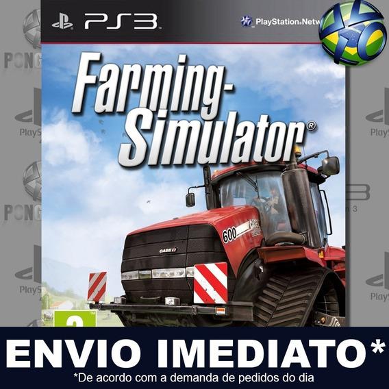 Farming Simulator 13 Ps3 Digital Psn Jogo Em Promoção