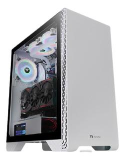 Gabinete Thermaltake Tt S300 Tg Gamer Pc - Snow Edition