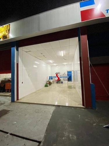 Salão Para Alugar, 45 M² Por R$ 3.000/mês - Penha - São Paulo/sp - Sl0188