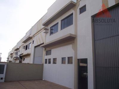 Salão Industrial À Venda, Distrito Industrial I, Santa Bárbara D