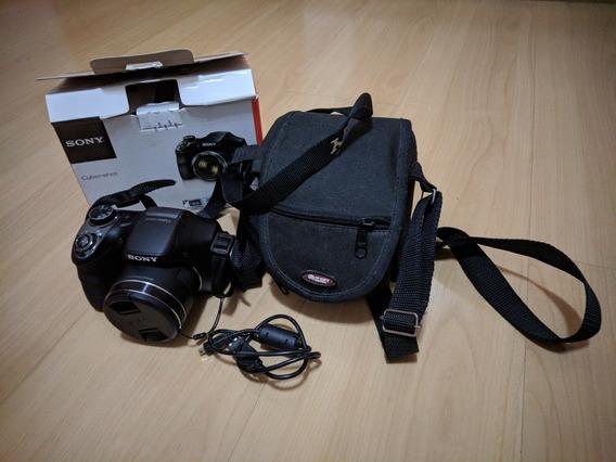 Câmera Sony Cyber-shot Dsc-h300 20,1mp